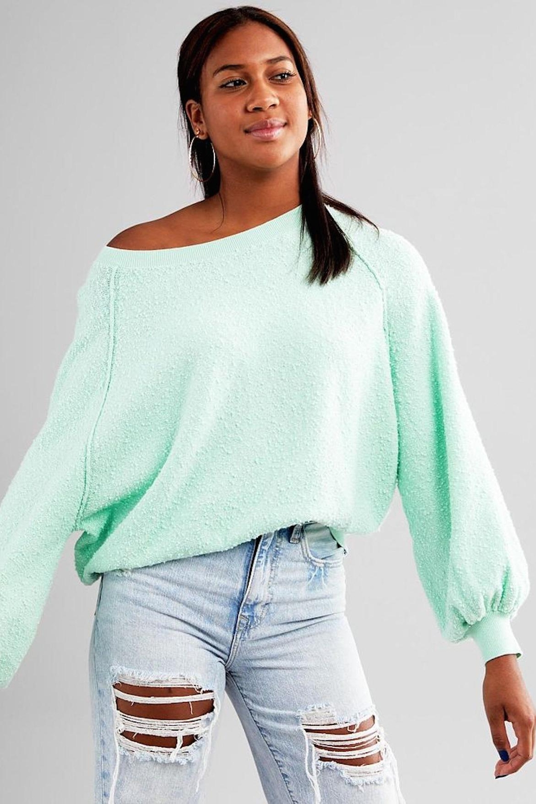Free People Fp Friend Pullover - Front Cropped Image