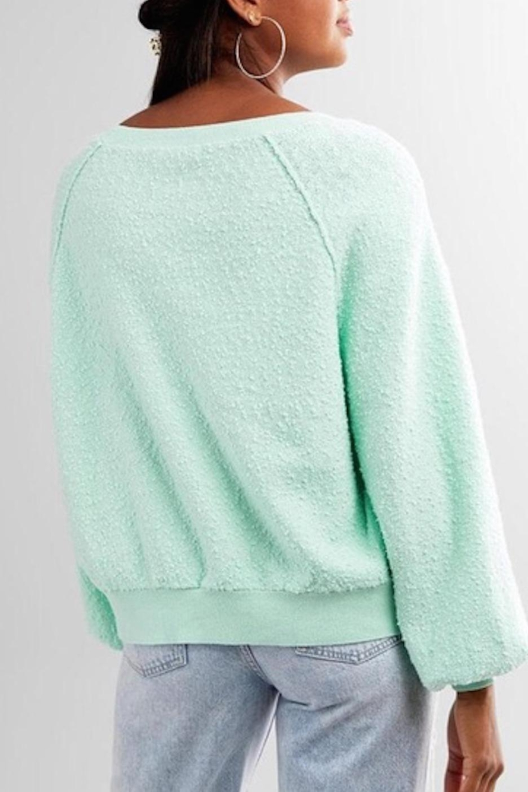Free People Fp Friend Pullover - Side Cropped Image