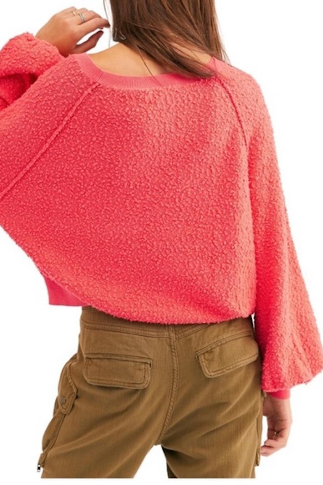 Free People Fp Friend Pullover - Front Full Image