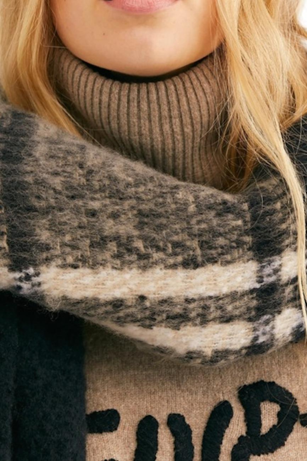Free People Fp Gemini Scarf - Front Cropped Image