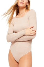 Free People Fp Gold Bodysuit - Front cropped