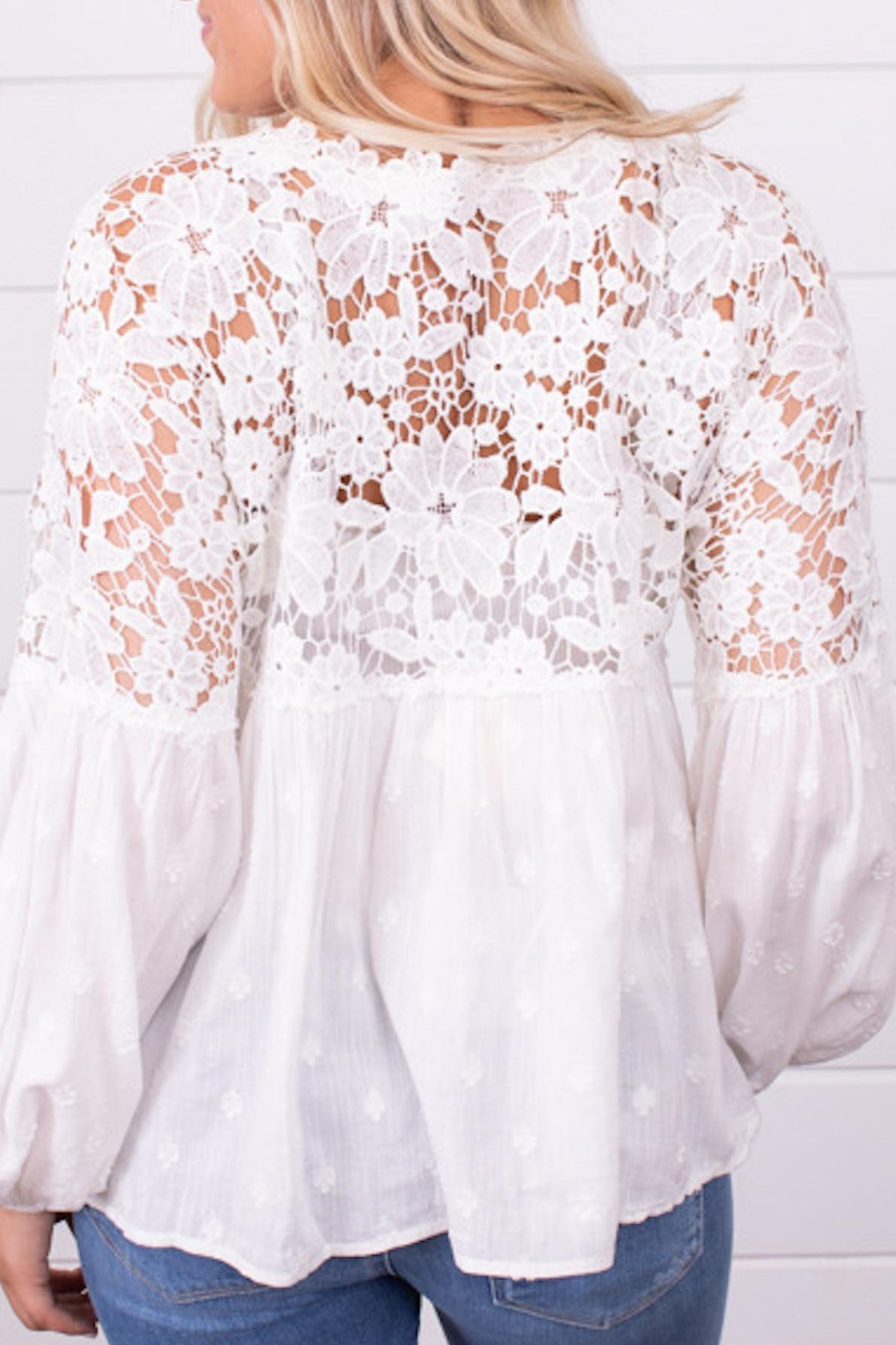 Free People Fp Lina Lace - Front Full Image