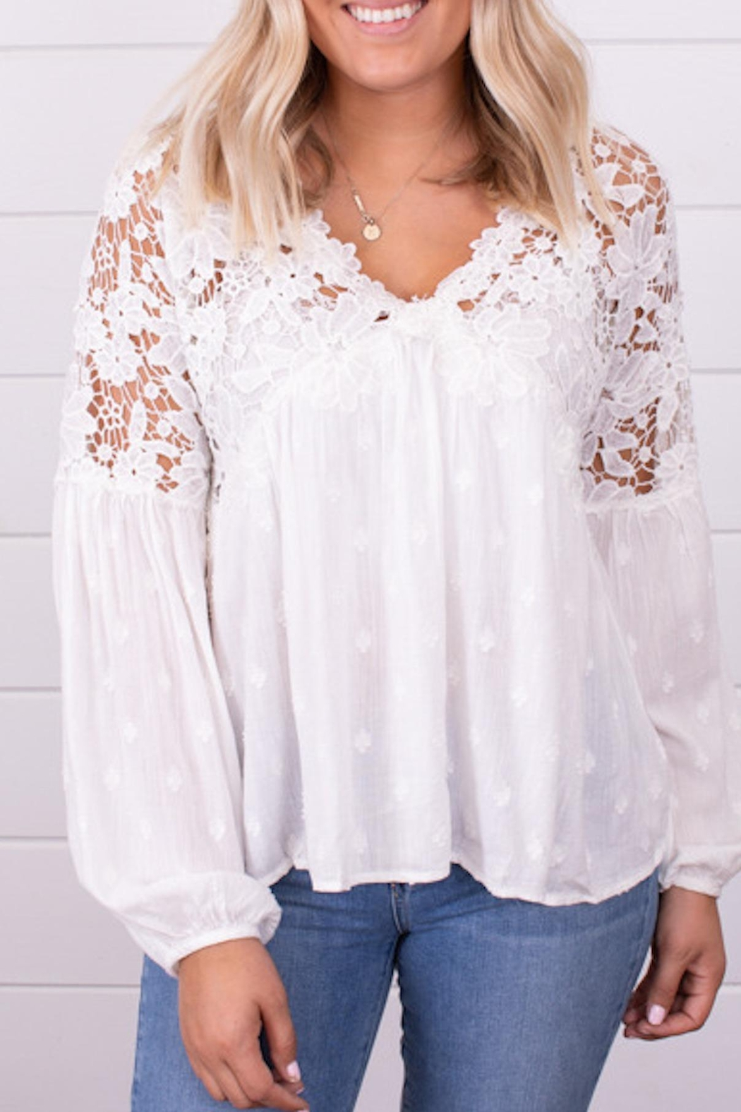 Free People Fp Lina Lace - Main Image
