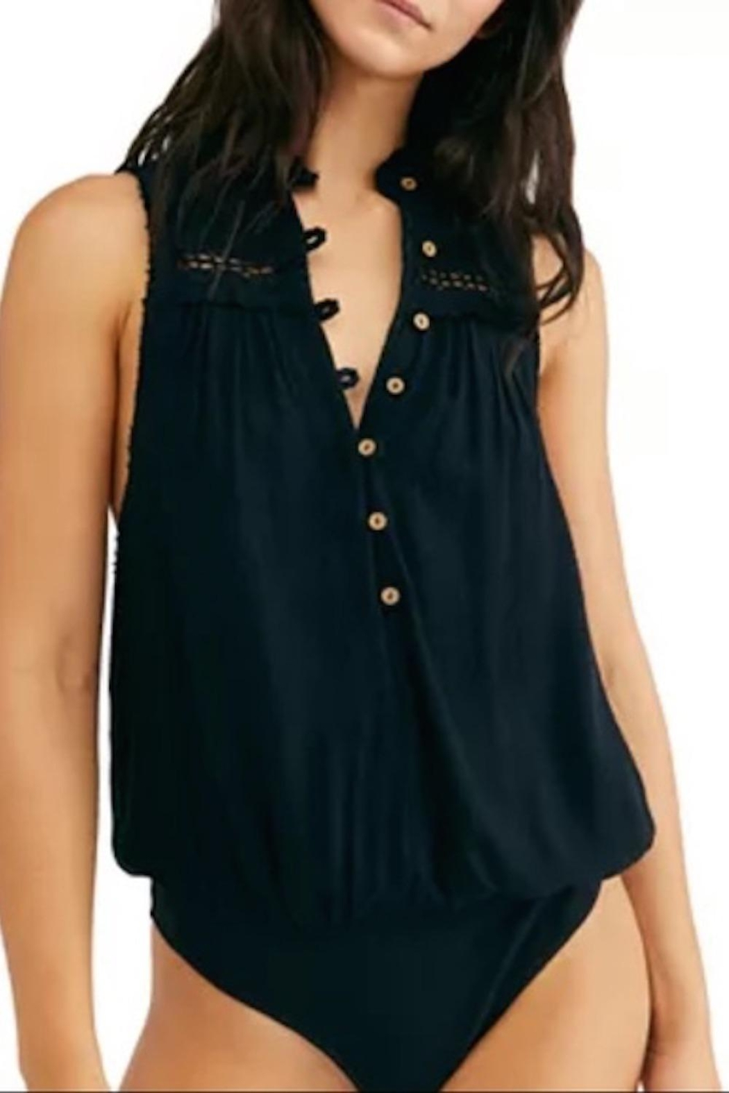 Free People Fp Low Tide Bodysuit - Front Cropped Image