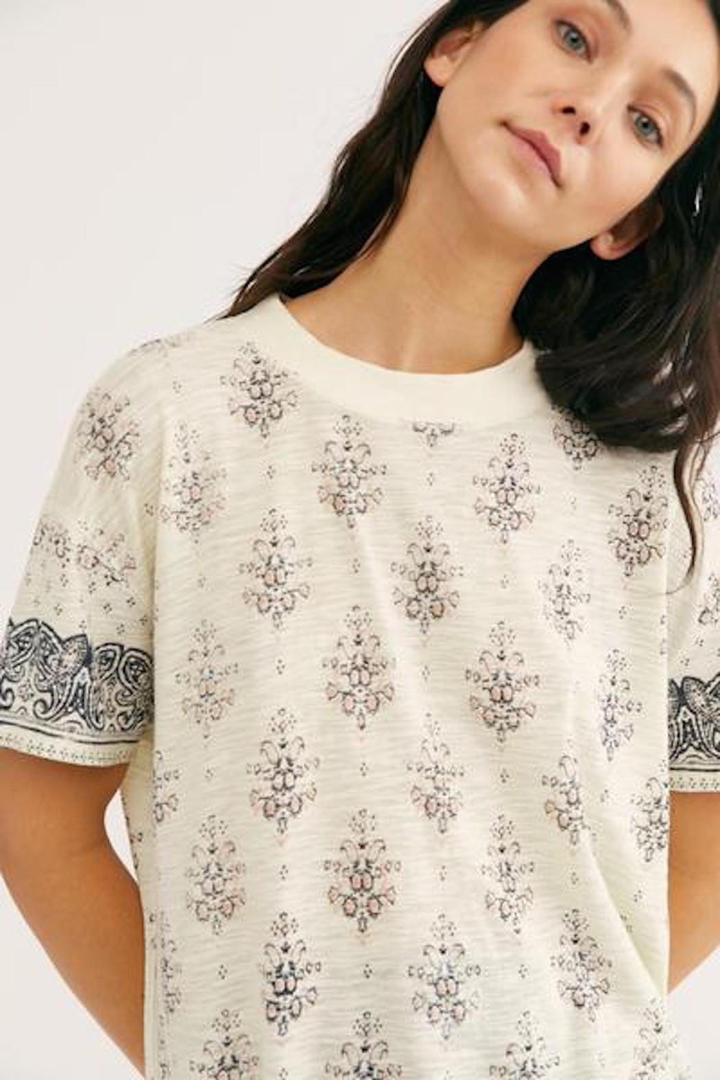 Free People Fp Maybelle Tee - Front Full Image