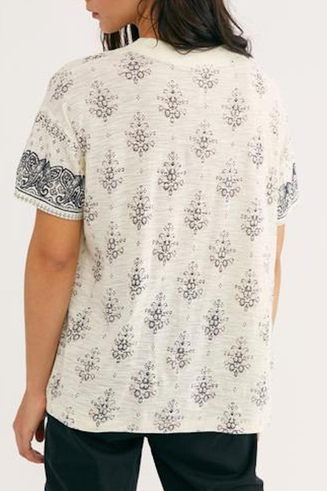 Free People Fp Maybelle Tee - Back Cropped Image