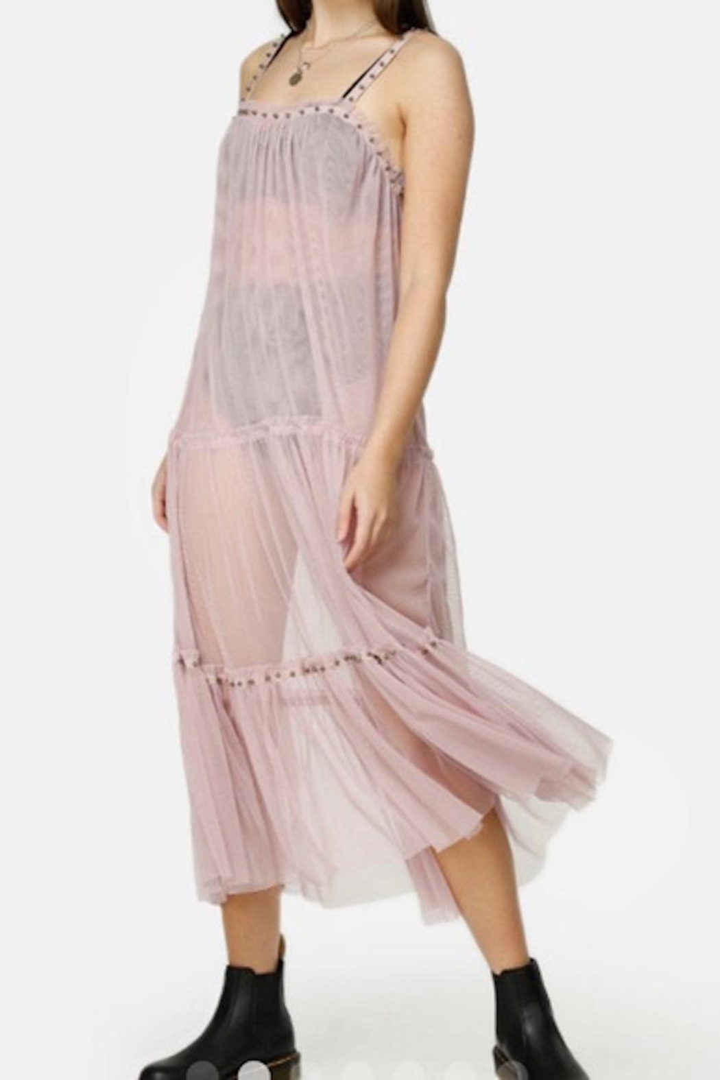 Free People Fp Night Out Mesh - Front Full Image