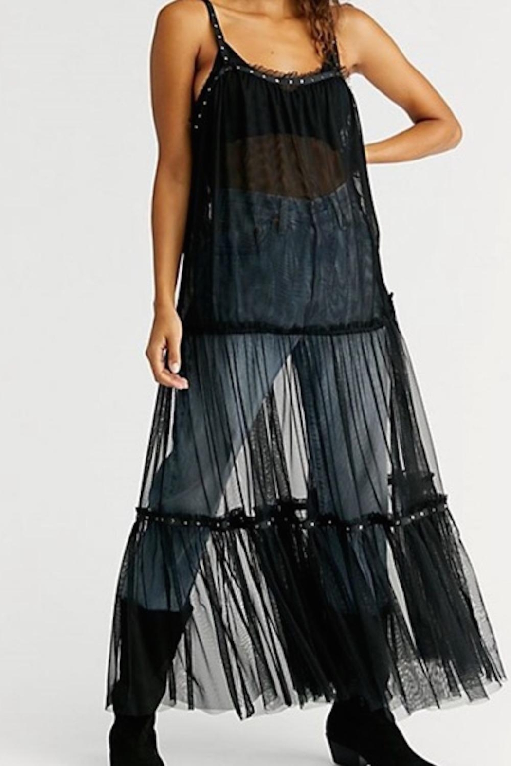 Free People Fp Night-Out Mesh - Front Full Image
