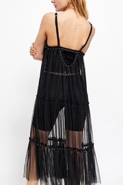 Free People Fp Night-Out Mesh - Back cropped