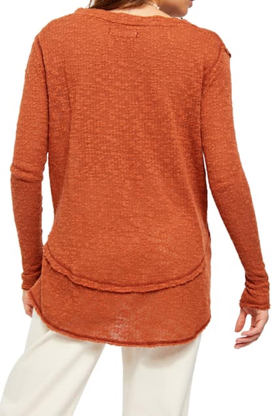 Free People Fp Ocean-Hacci Sweater - Back Cropped Image