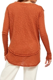 Free People Fp Ocean-Hacci Sweater - Back cropped