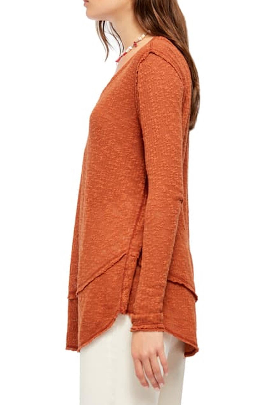 Free People Fp Ocean-Hacci Sweater - Side Cropped Image
