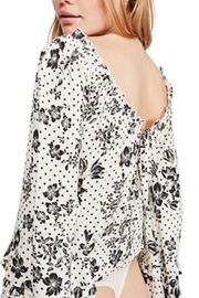 Free People Fp One Date Bodysuit - Back cropped