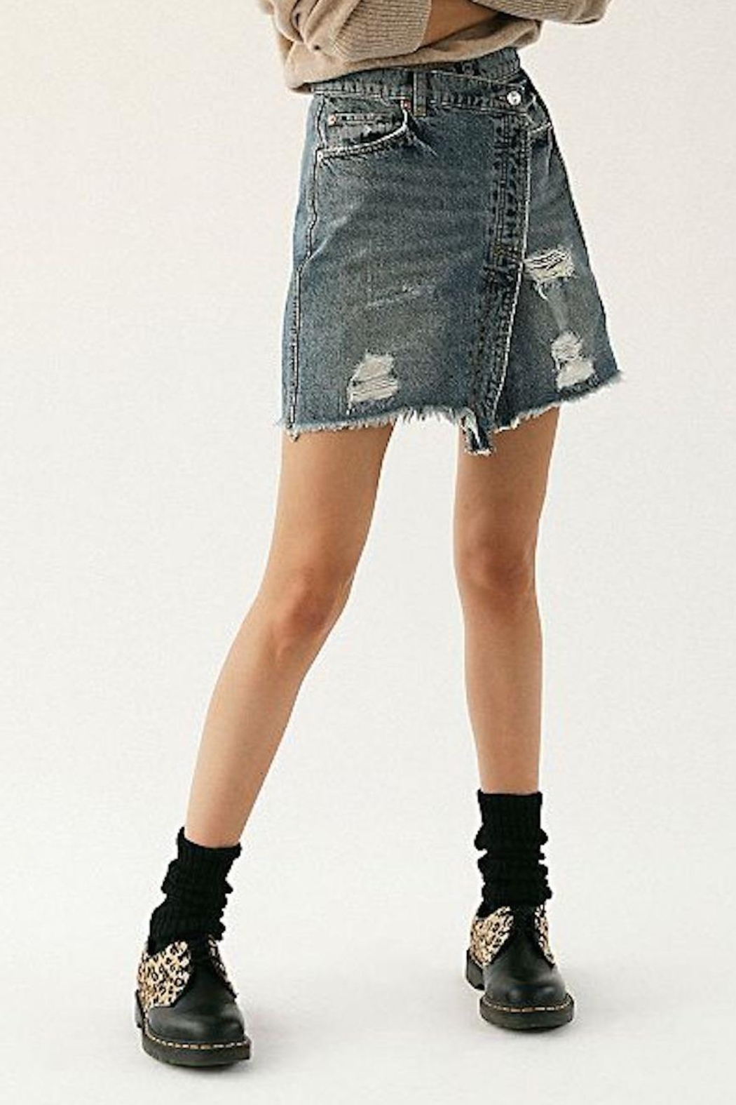 Free People Fp Parker Skirt - Front Full Image