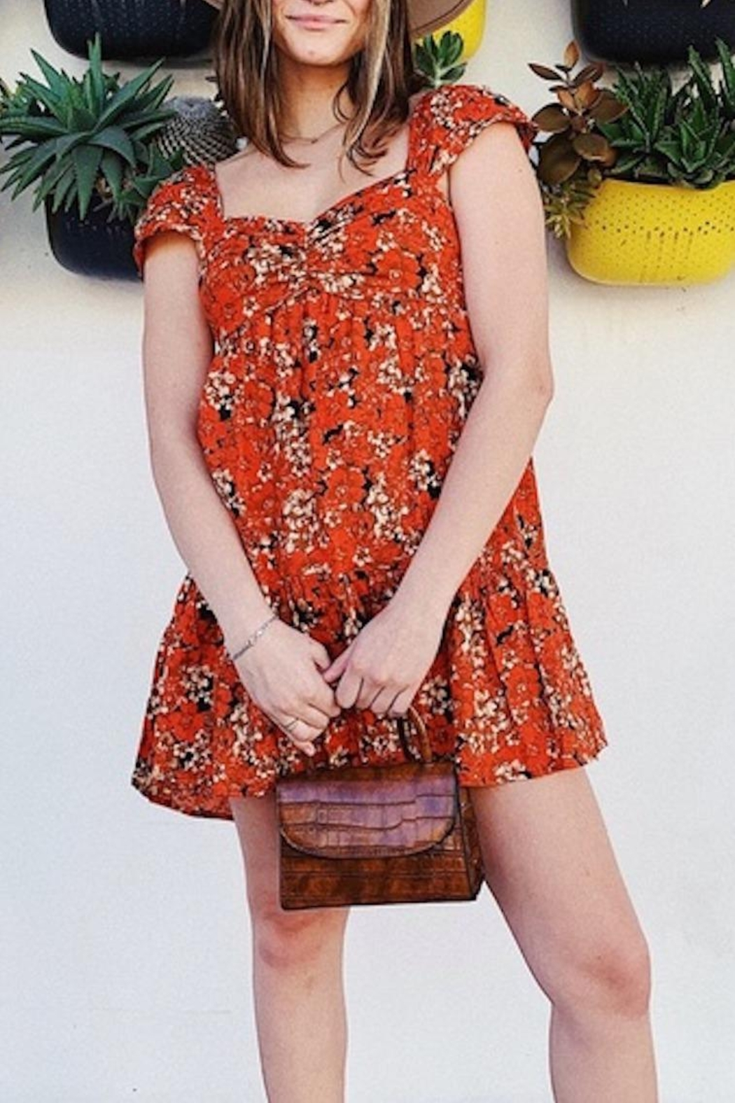Free People Fp Pattern Play Mini - Front Cropped Image
