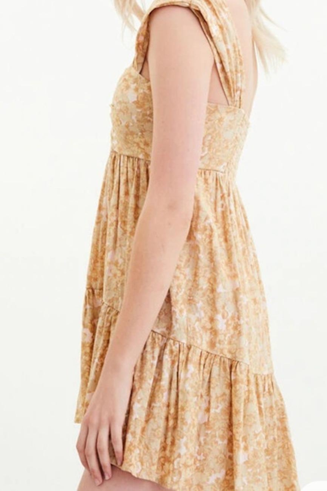 Free People Fp Pattern Play Mini - Back Cropped Image