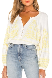 Free People Fp Persuasion Top - Front full body