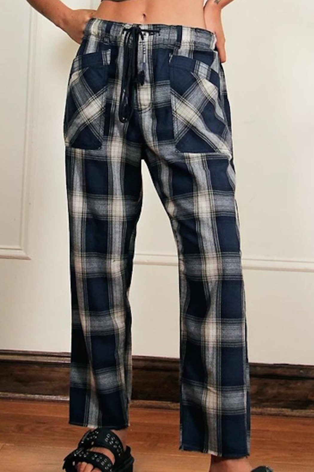 Free People Fp Plaid Slouch - Main Image