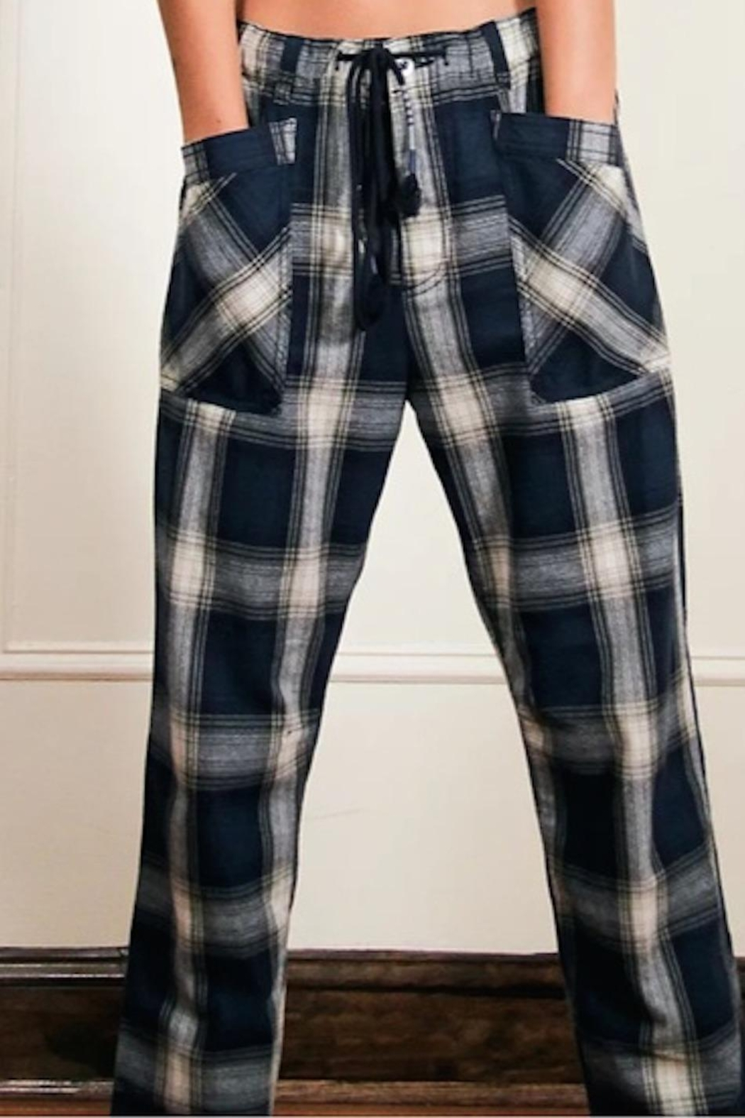 Free People Fp Plaid Slouch - Side Cropped Image