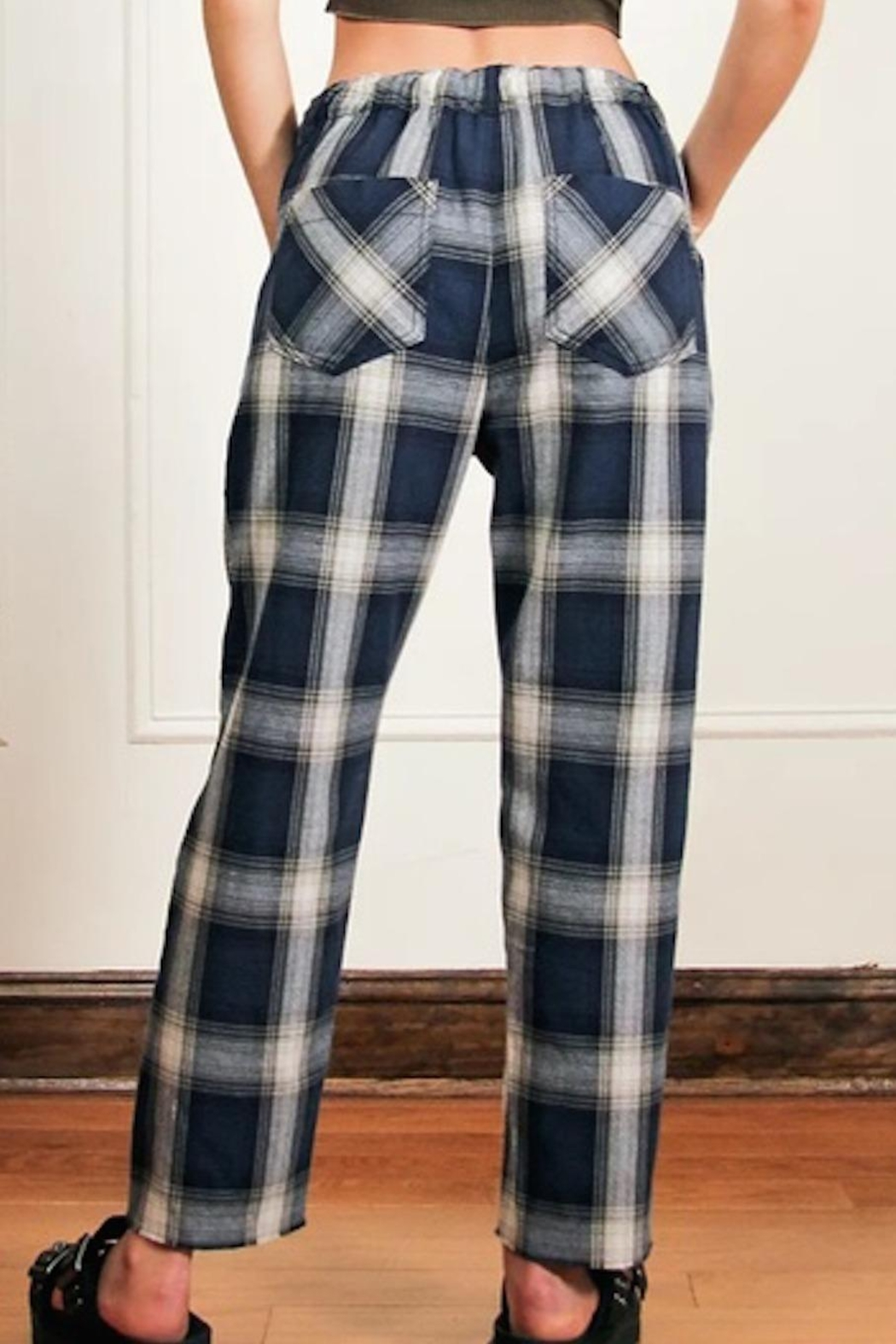 Free People Fp Plaid Slouch - Front Full Image