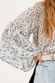 Free People Fp Rose-Valley Blouse - Back cropped