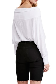 Free People Fp Sequoia Tee - Back cropped