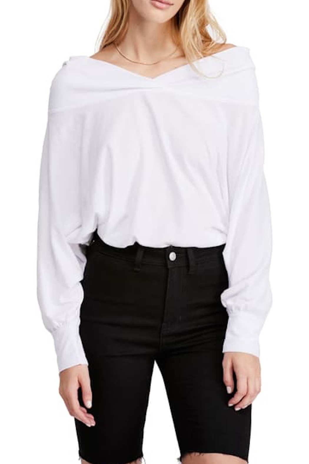Free People Fp Sequoia Tee - Front Full Image