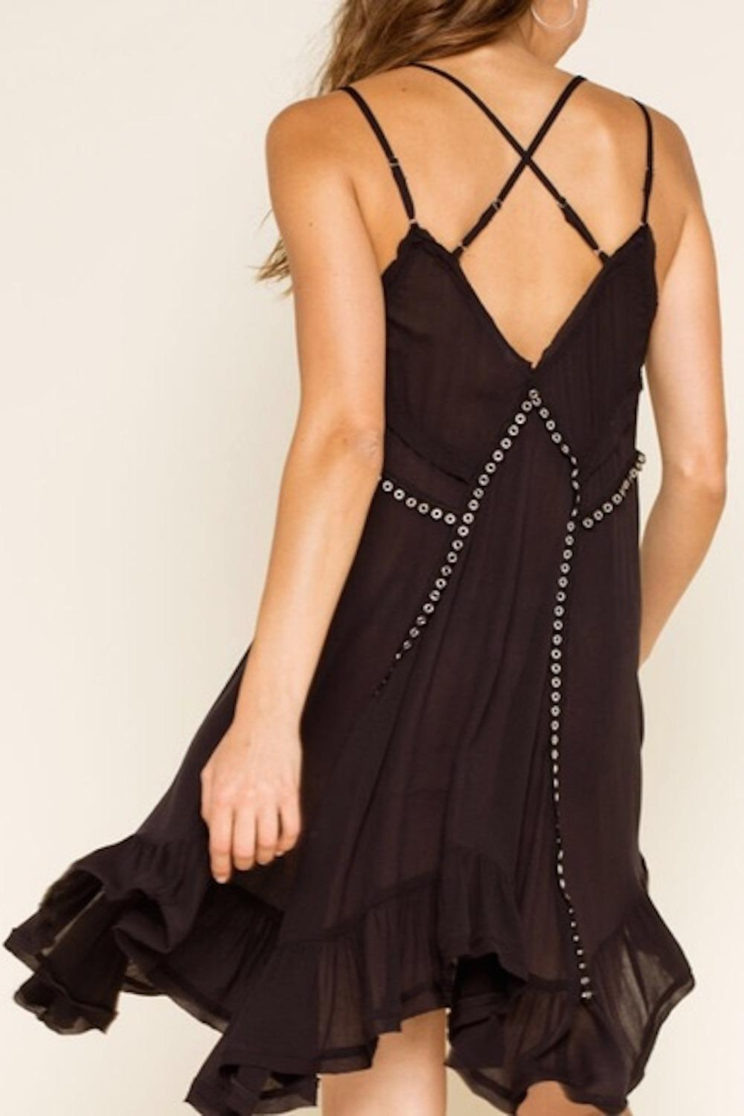 Free People Fp Trapezoid Dress - Side Cropped Image