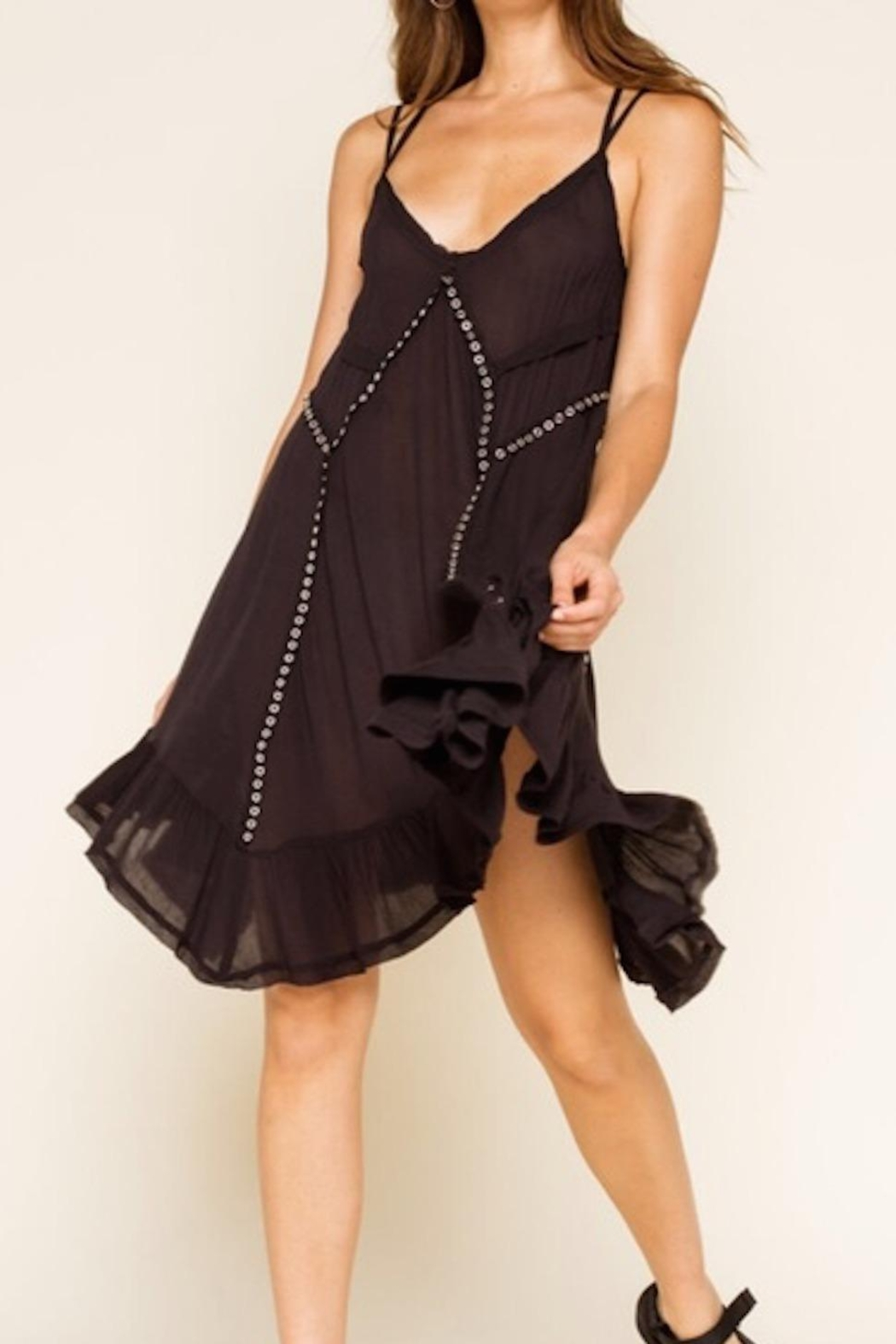 Free People Fp Trapezoid Dress - Front Full Image