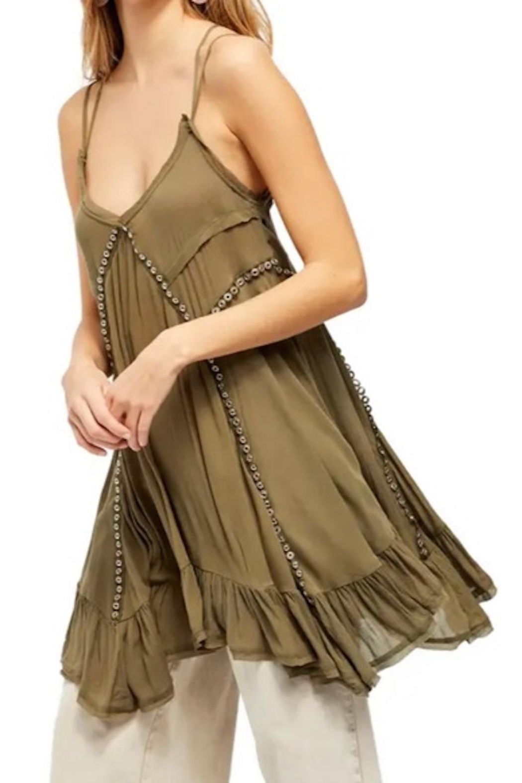Free People Fp Trapezoid Dress - Front Cropped Image