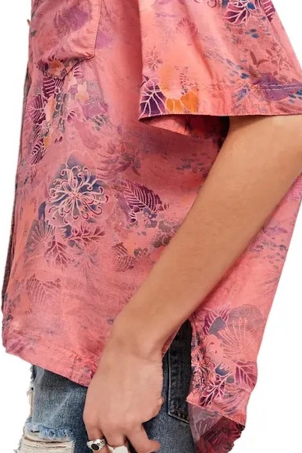 Free People Fp Vibes Buttondown - Front Full Image