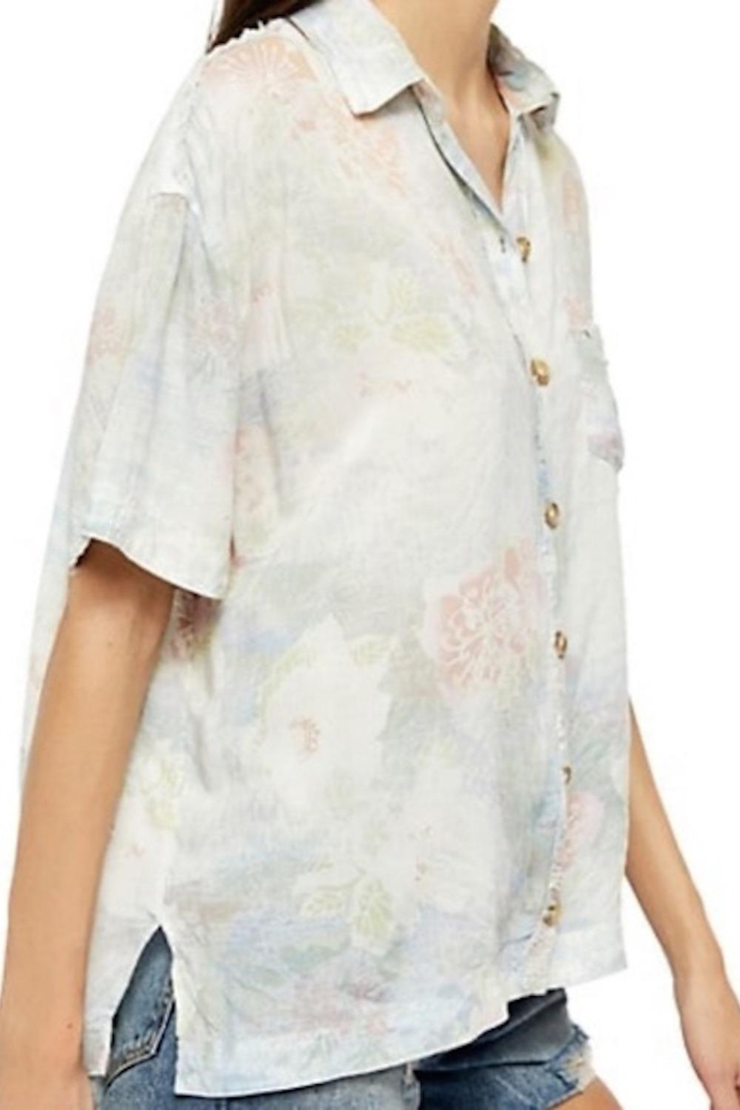Free People Fp Vibes Buttondown - Side Cropped Image