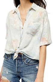 Free People Fp Vibes Buttondown - Front full body