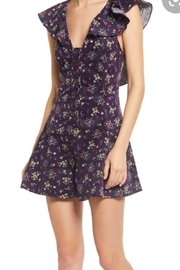 Free People Fp Violet Romper - Front full body