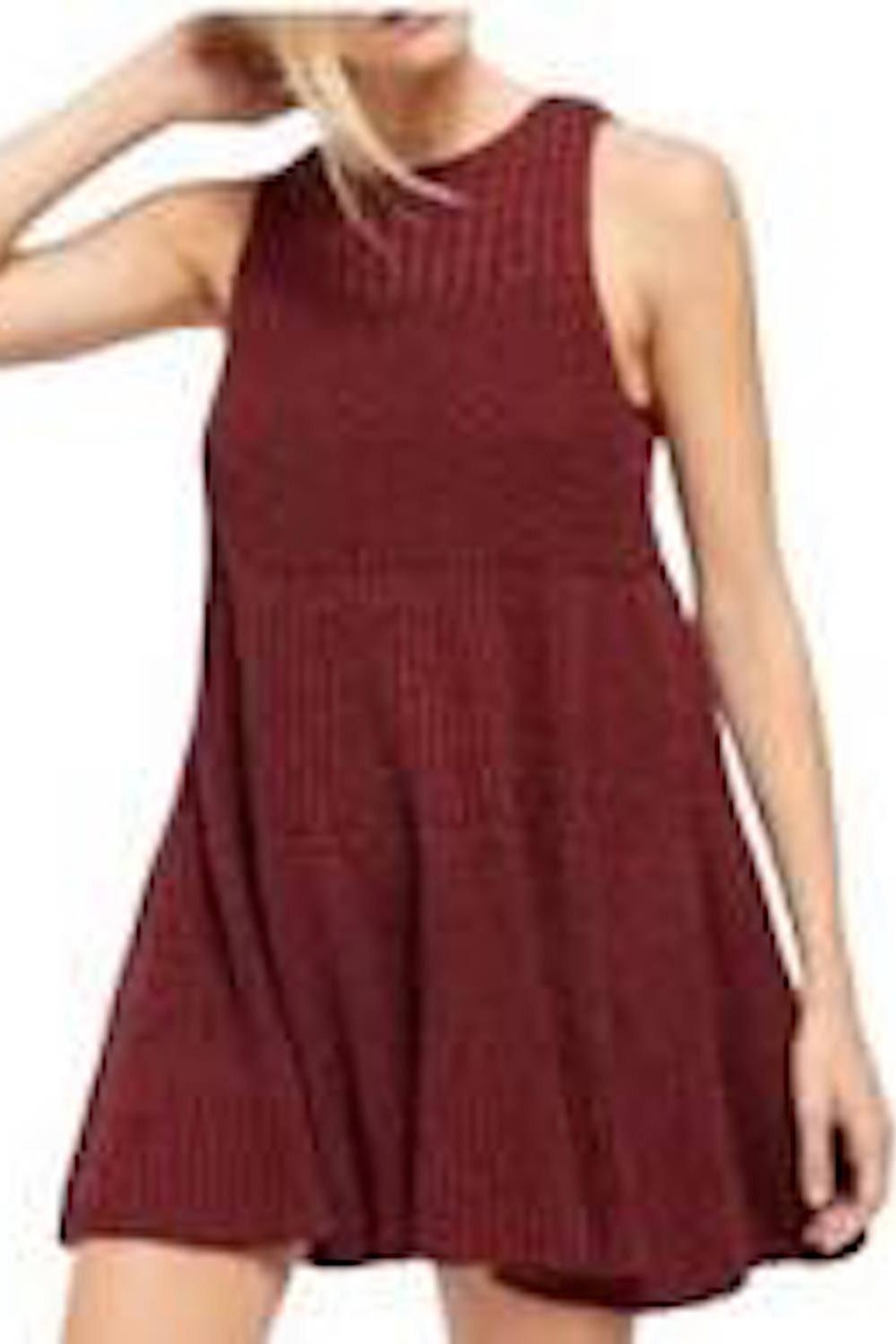 Free People Fp Waterfall Dress - Front Full Image