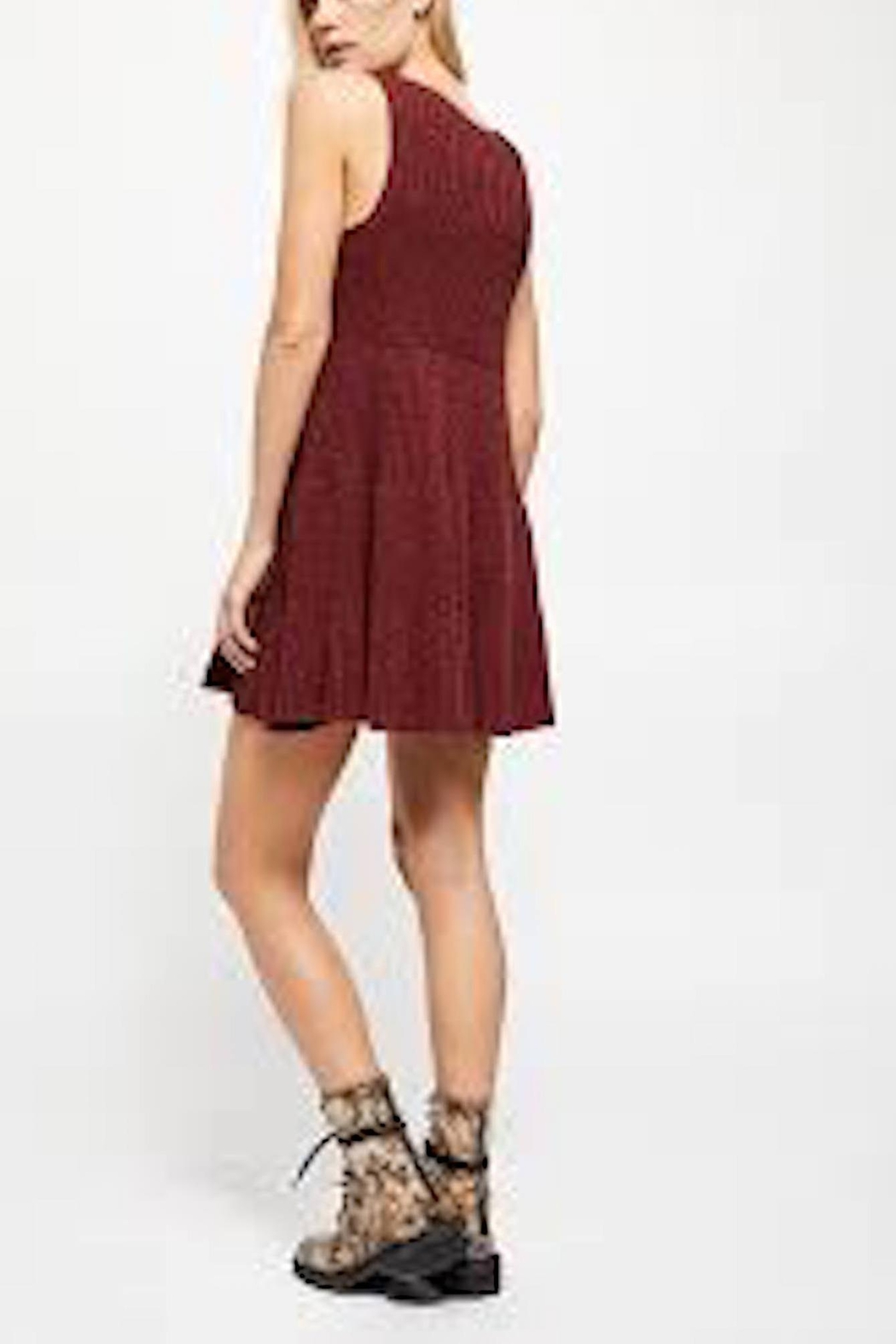 Free People Fp Waterfall Dress - Back Cropped Image
