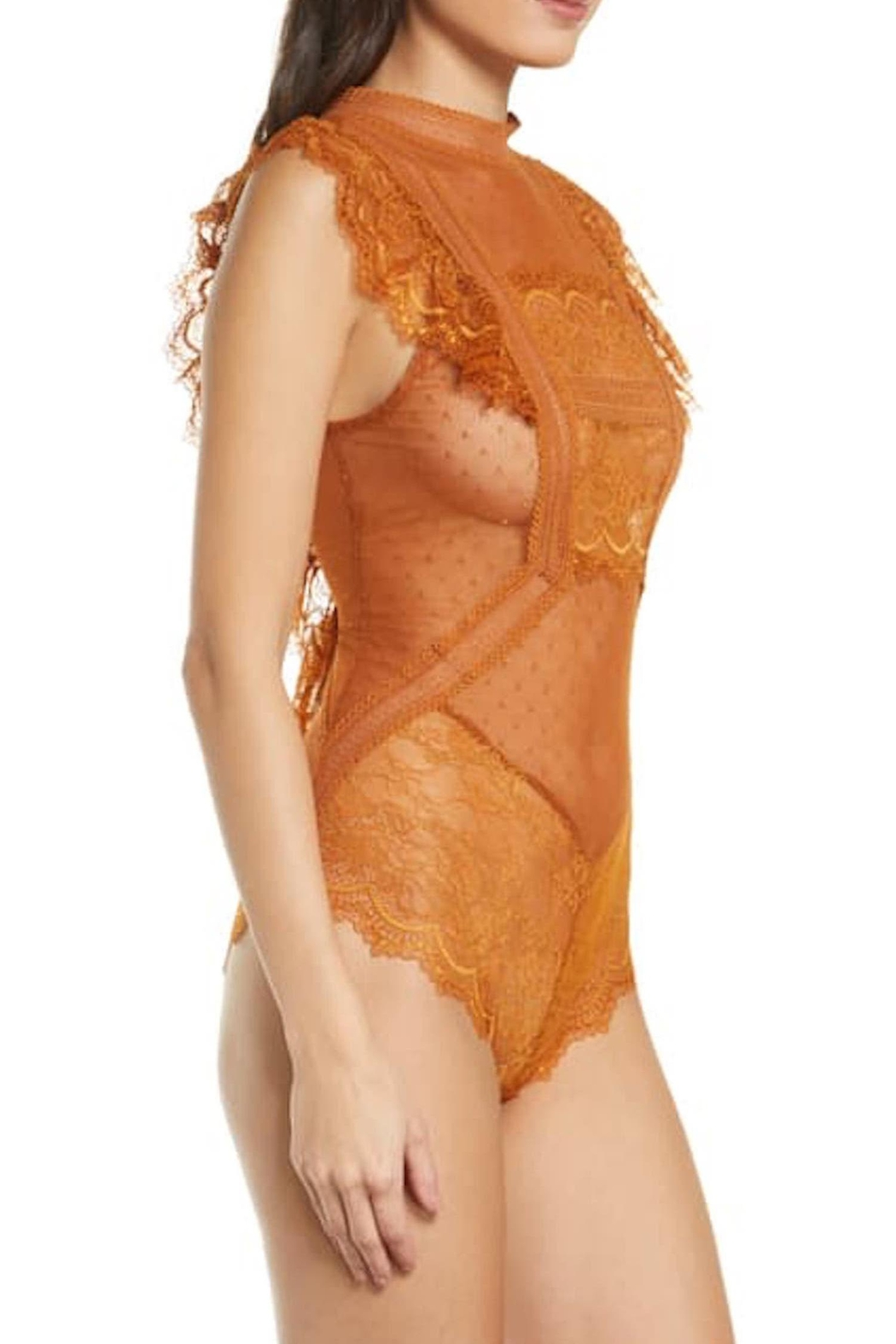 Free People Fp Winnie Bodysuit - Front Full Image
