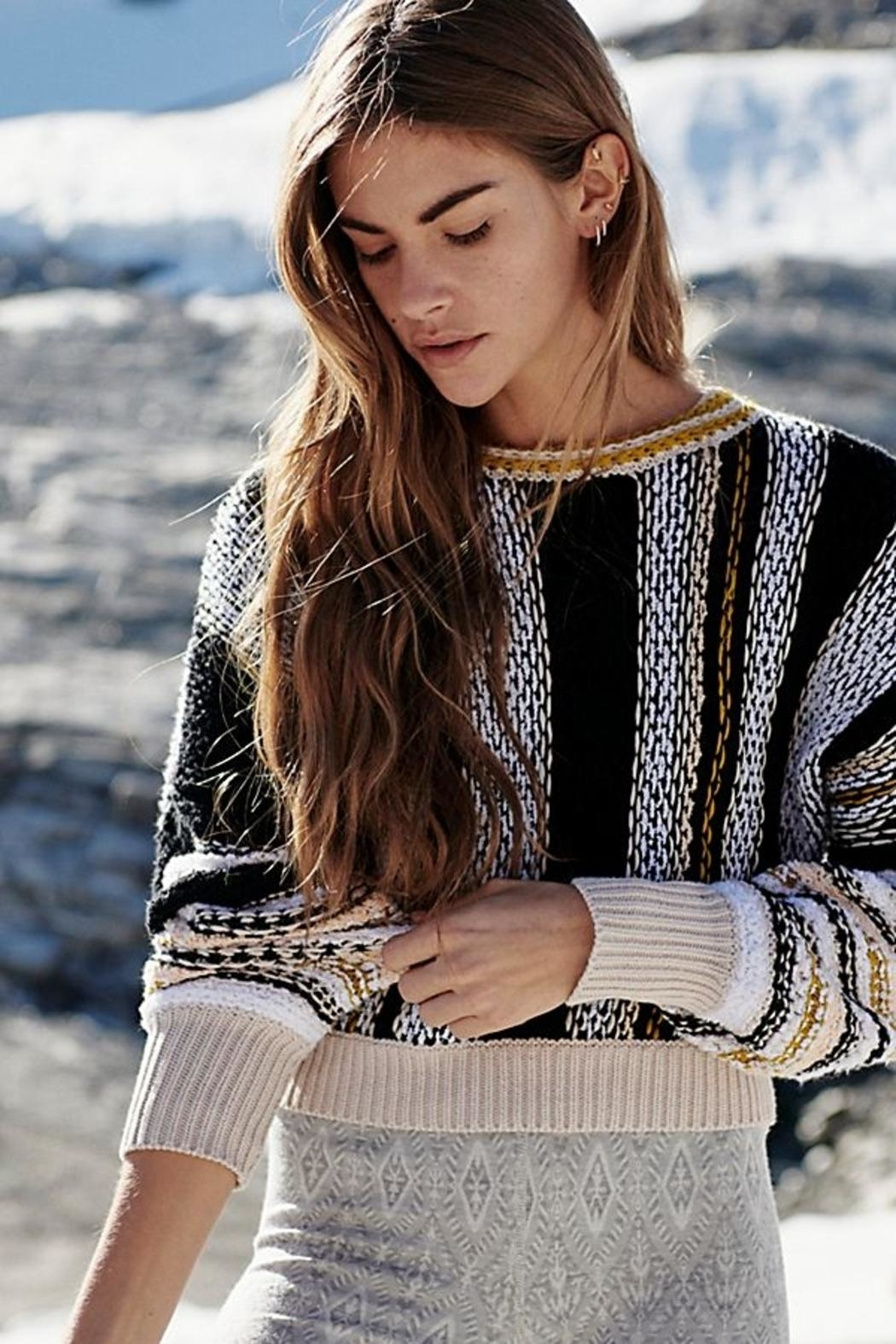 Free People Pullover - Side Cropped Image