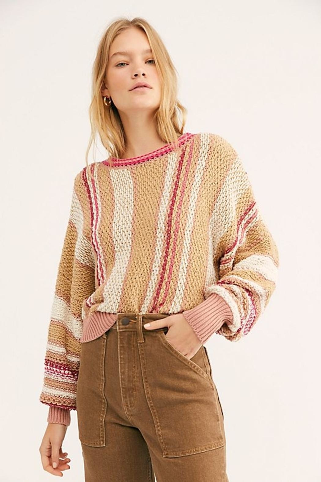Free People Pullover - Front Cropped Image
