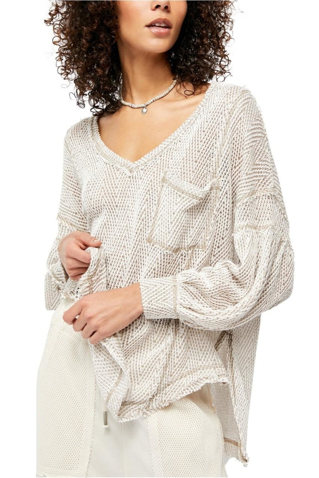 Free People Fresh Haci Sweater - Front Cropped Image