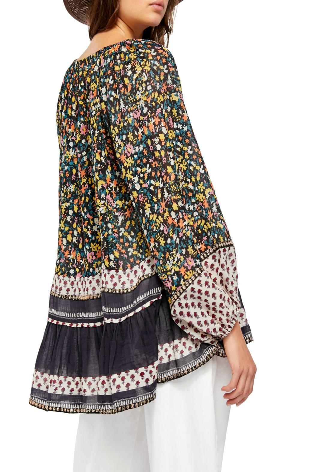 Free People Gardenia Floral-Print Tunic - Front Full Image