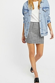 Free People Gingham Skirt - Product Mini Image