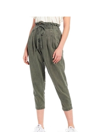 Free People Green Pant - Front cropped