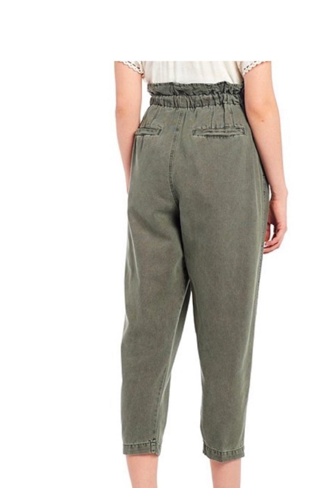Free People Green Pant - Front Full Image