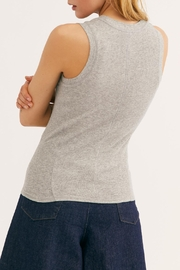 Free People Heather Grey Tank - Front full body
