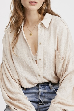Free People Hidden Valley Buttondown - Product List Image