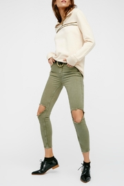 Free People High Rise Busted Skinny - Product Mini Image