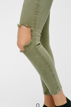 Free People High Rise Busted Skinny - Alternate List Image