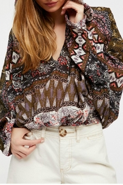 Free People Hold On Tight Top - Front full body