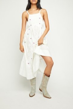 Free People Ivory Embroidered Maxi - Product List Image